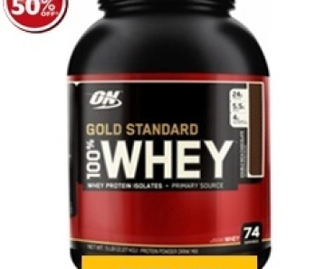 on 100 whey gold standard