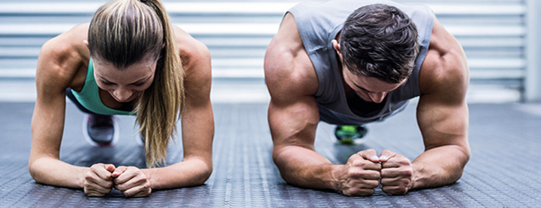 Hidden Ab Muscle Training